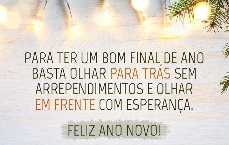 Feliz Ano Novo aos Clientes e amigos!